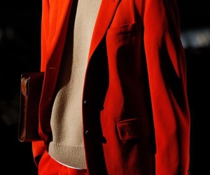 dries van noten, fashion, and red image