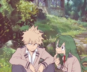 anime, boku no hero academia, and tsuyu asui image