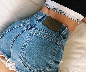 Calvin Klein, style, and jeans image