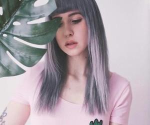 cactus, hair, and indie image