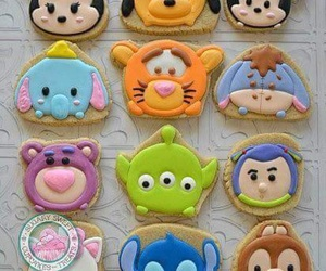 disney, Cookies, and food image