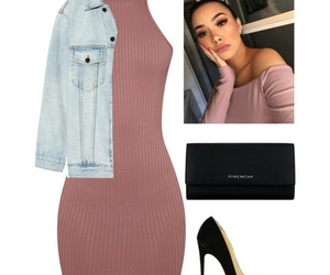Polyvore, makeup done, and christian louis vuitton image