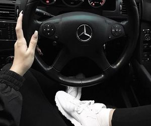 black, car, and driving image