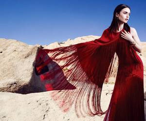 celeb, lily collins, and beauty image