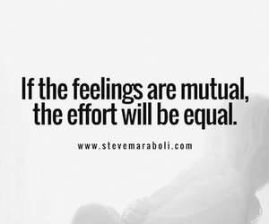 effort, equal, and feelings image