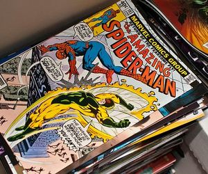 comic, spiderman, and Marvel image