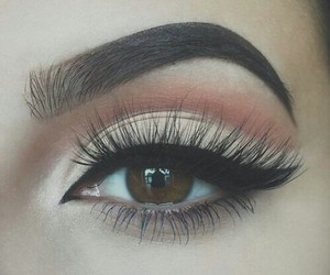 makeup, eye, and beauty image