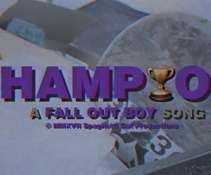 champion, pete wentz, and fall out boy image