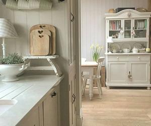 farmhouse, home decor, and kitchen image