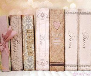 book, pink, and paris image