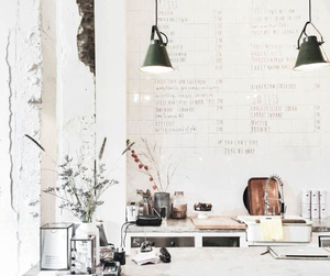 decor, plants, and fashion image