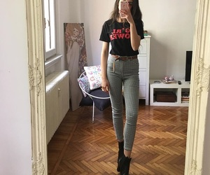 clothes, girl power, and outfit image