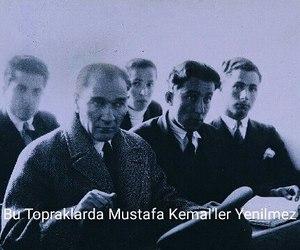 turkiye and atatürk image
