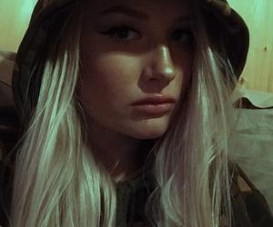 eyeliner, hoodie, and thrasher image