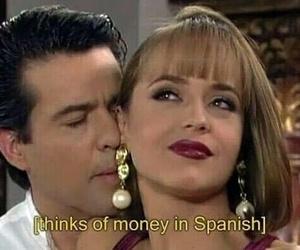 money, español, and funny image