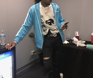fashion, gucci, and rappers image