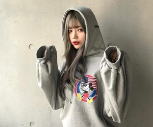 girl, korea, and style image