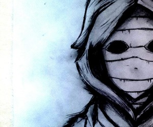 anime, drawings, and tokyo ghoul image