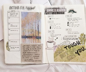 college, journal, and study image