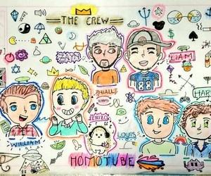 fanart, one direction, and fanfiction image