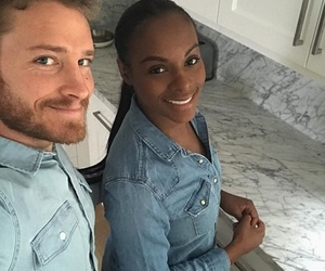 couples, dating, and interracial image