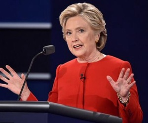 Hillary Clinton, inspiration, and red coat image
