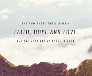 faith, bible verse, and love image