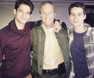 scott, teen wolf, and sheriff image