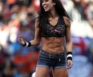 wwe, aj lee, and roman reigns image