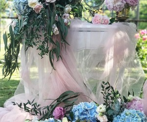 flowers, beautiful, and bridal image
