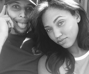 steph curry, ayesha curry, and couple image