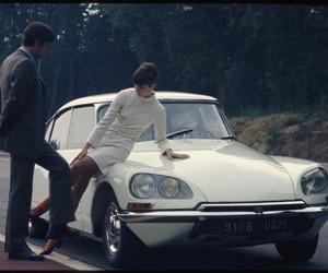 1960s, car design, and citroen image