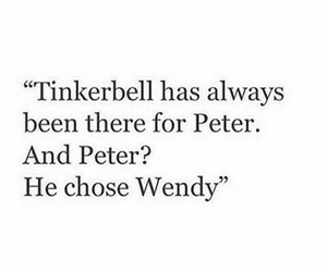 peter, quotes, and tinkerbell image