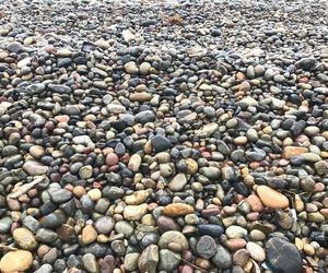 pacific, surf, and stones image