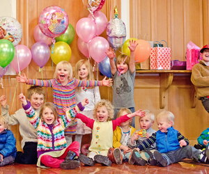 kids birthday party, baby birthday party, and kids birthday planners image