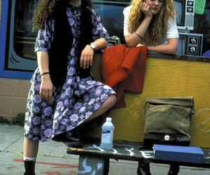 90s, drew barrymore, and sara gilbert image