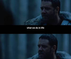 gladiator, quotes, and russell crowe image