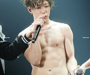 bobby, Ikon, and abs image