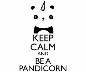 unicorn, pandicorn, and panda image