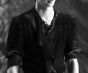 peter pan, robbie kay, and once upon a time image
