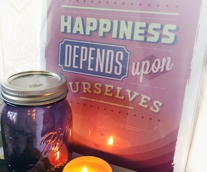 candle, happy, and comfy image