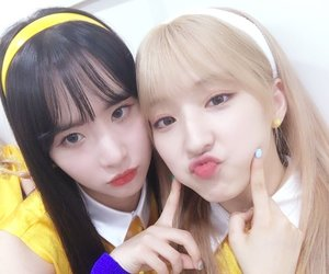 eunseo, wjsn, and seola image