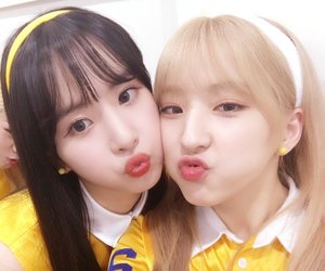 wjsn, eunseo, and seola image