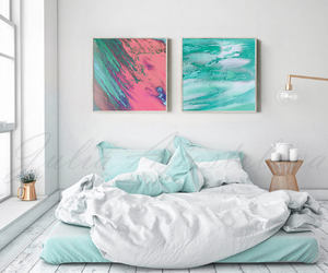 abstract, painting, and large wall art image