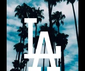 blue, california, and la image