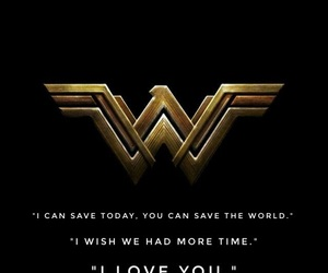 quote, wonder woman, and wonder woman quote image