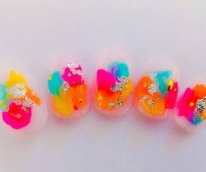 colorful, nail, and nail art image