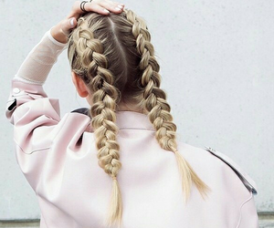 blonde, we heart it, and hair goals image