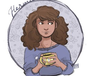 arts, hermione granger, and harry potter image