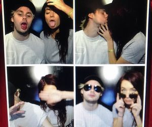 michael clifford and crystal leigh image